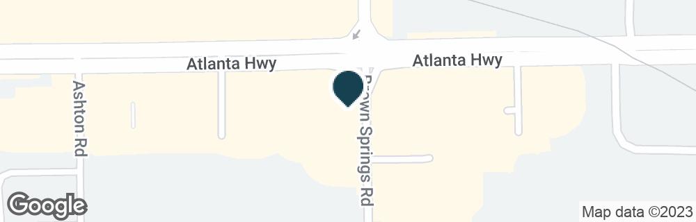 Google Map of6680 ATLANTA HWY