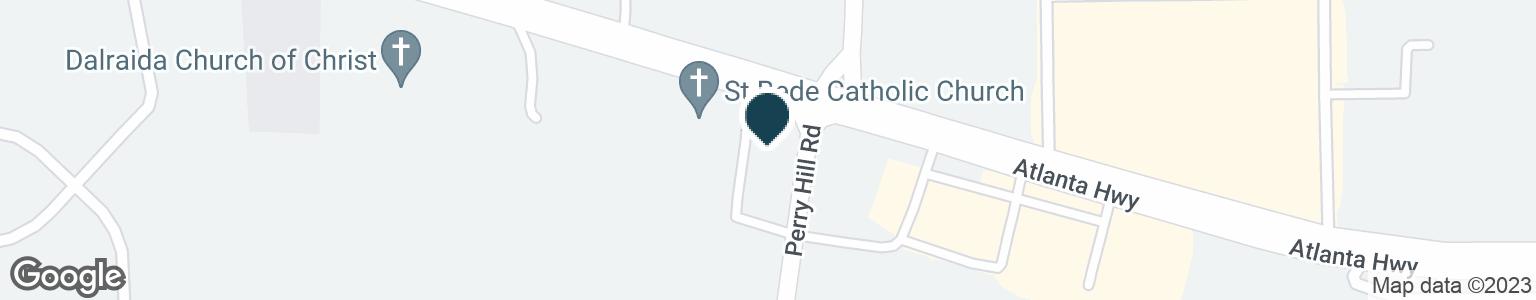 Google Map of3892 ATLANTA HWY