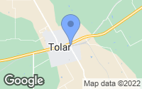 Map of Tolar, TX