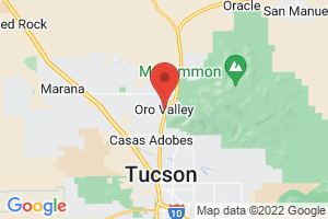 Map of Oro Valley