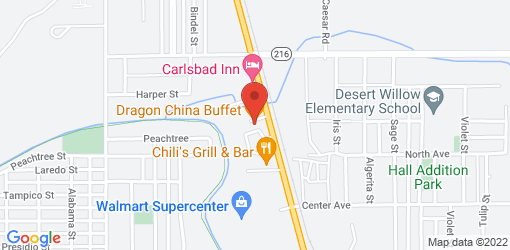 Directions to Dragon China Buffet
