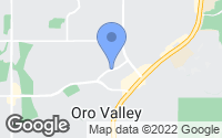 Map of Oro Valley, AZ