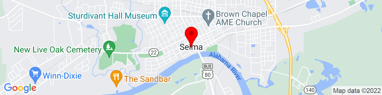 Google Map of 32.407222222222224, -87.02111111111111