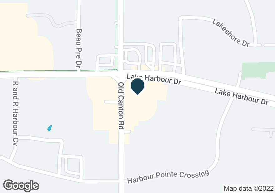 Google Map of6970 OLD CANTON RD