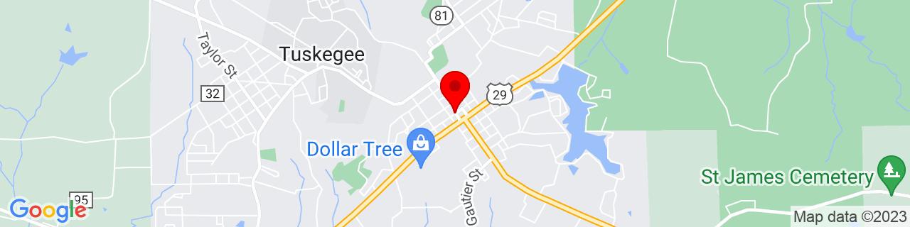 Google Map of 32.424166666666665, -85.69166666666668