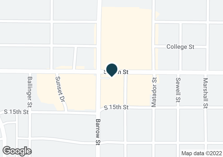 Google Map of3033 S 14TH ST
