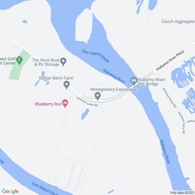 Map of Montgomery Expressway