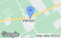Map of Venus, TX
