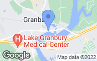Map of Granbury, TX