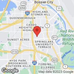 Athletic Republic Shreveport on the map