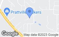 Map of Prattville, AL
