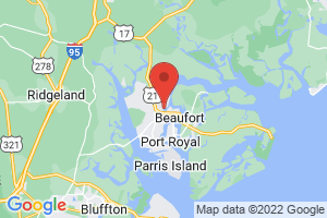Map of Beaufort