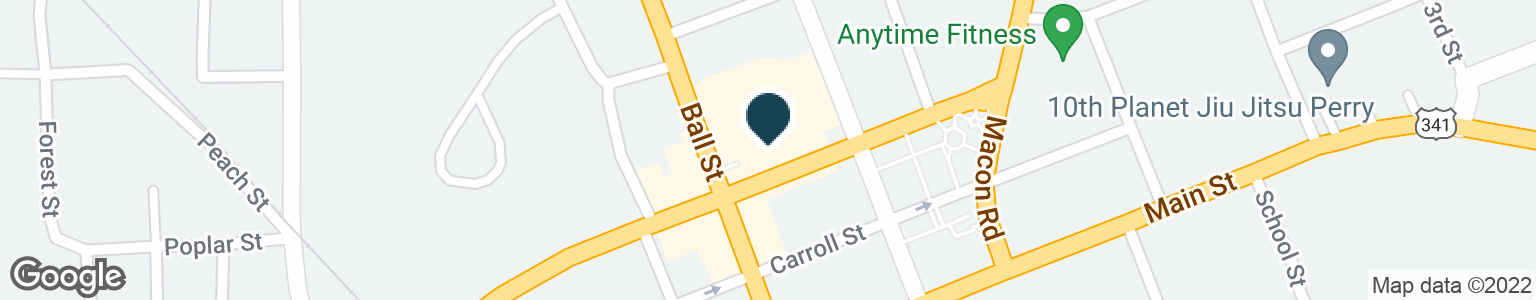 Google Map of1100 BALL ST