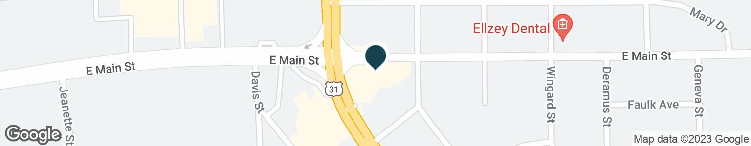 Google Map of703 S MEMORIAL DR