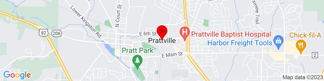 Google Map of 32.4640245, -86.4596966