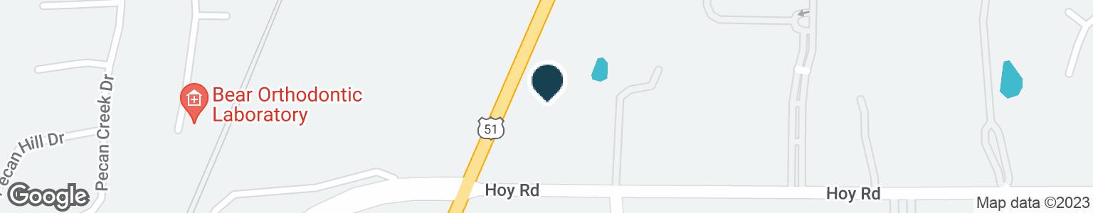 Google Map of1100 HIGHWAY 51
