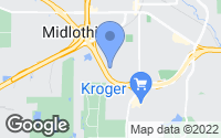Map of Midlothian, TX