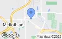 Map of Midlothian, TX