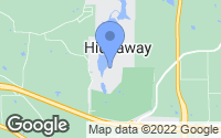 Map of Hideaway, TX