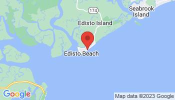 Map of Edisto Beach