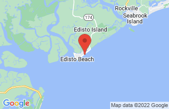 Map of Edisto Beach