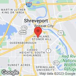 Shreveport Clinic on the map