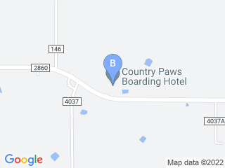 Map of Country Paws Boarding Hotel Dog Boarding options in Kaufman | Boarding