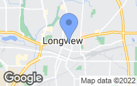 Map of Longview, TX