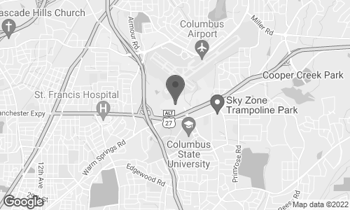 Map of 3131 Manchester Expway in Columbus