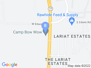 Map of Camp Bow Wow Dog Boarding Tucson Dog Boarding options in Tucson | Boarding