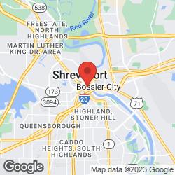 Shreveport Regional Visitor's Center on the map