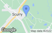 Map of Scurry, TX