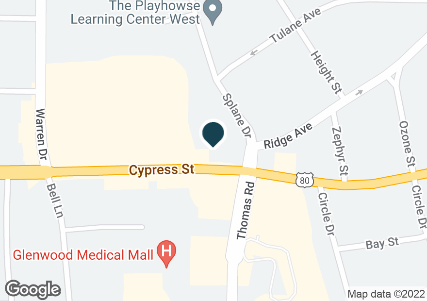 Google Map of3304 CYPRESS ST