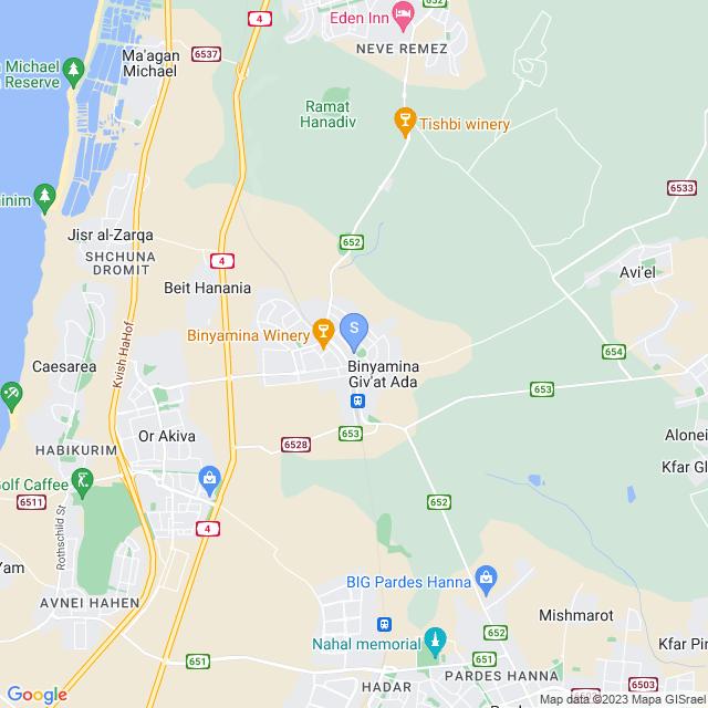 רחוב המייסדים 34, בנימינה גבעת עדה, ישראל