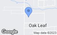 Map of Red Oak, TX