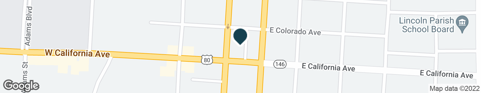 Google Map of108 W CALIFORNIA AVE