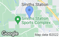 Map of Smiths Station, AL