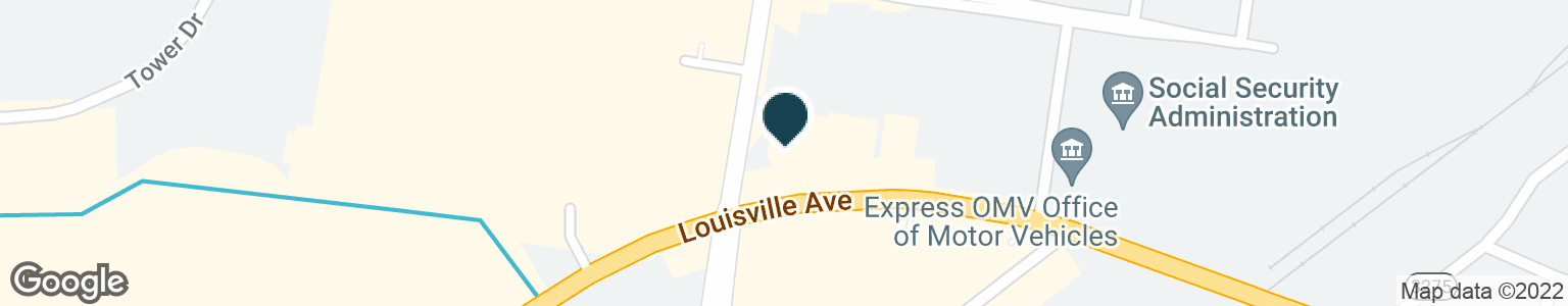 Google Map of2801 LOUISVILLE AVE
