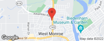Map of 2601 N 7th St in West Monroe