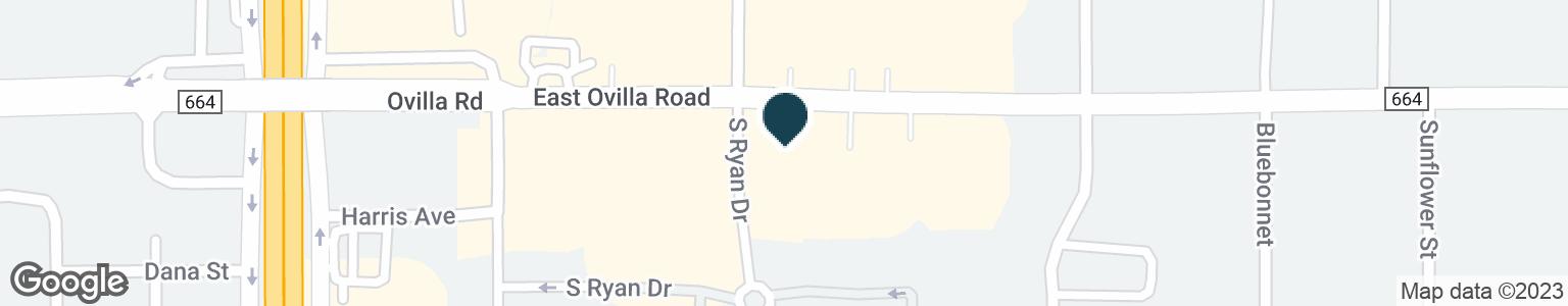 Google Map of107 E OVILLA RD