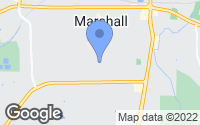 Map of Marshall, TX