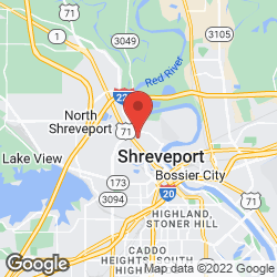 The Shreveport-Bossier Auto Auction on the map