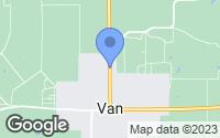 Map of Van, TX