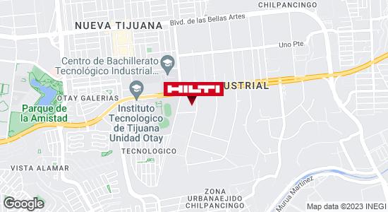 Obtener indicaciones para Ocurre Paqex Tijuana (Rosarito) Ciudad Industrial Nueva Tijuana