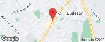 Map of 504 SW Wilshire Blvd in Burleson