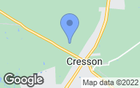 Map of Cresson, TX