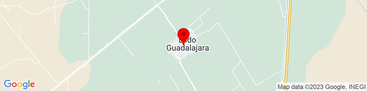 Google Map of 32.54572, -114.86495