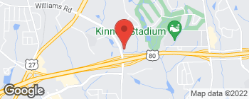 Map of 7160 Moon Rd in Columbus