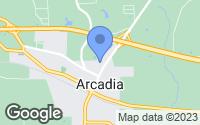 Map of Arcadia, LA