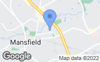 Map of Mansfield, TX